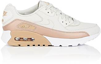 Nike Women's Women's Air Max 90 Ultra SE Leather Sneakers $125 thestylecure.com
