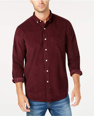 Club Room Men's Corduroy Shirt