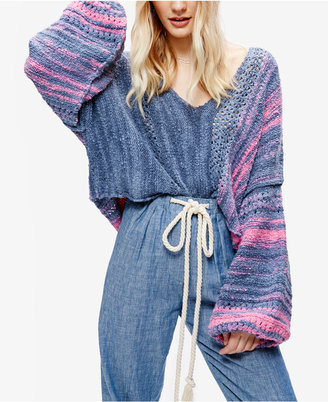 Free People Amethyst Cropped Sweater $128 thestylecure.com