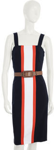 Diane von Furstenberg Porta Dress - Navy