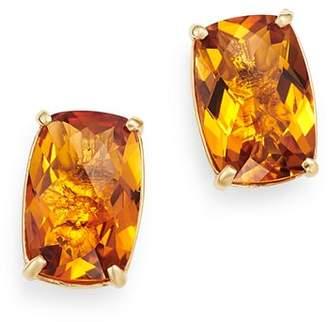 Bloomingdale's Citrine Stud Earrings in 14K Yellow Gold - 100% Exclusive