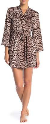 Betsey Johnson Short Print Robe