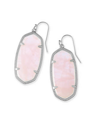 Kendra Scott Elle Drop Earrings in Silver