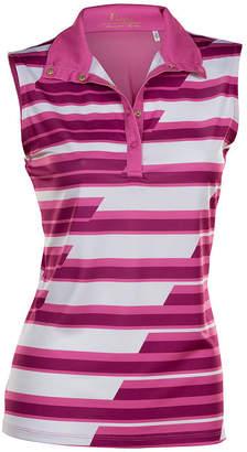 Asstd National Brand Nancy Lopez Golf Gear Sleeveless Plus Polo