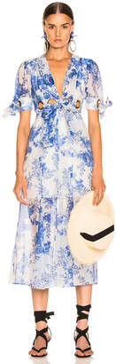 Alice McCall Only Everything Midi Dress in Ocean | FWRD