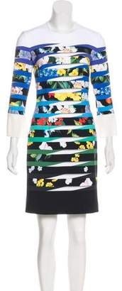 Mary Katrantzou Printed Mini Dress w/ Tags