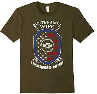 Veterans Wife Gift Veterans Wife I Married My Hero