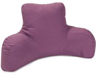 Majestic Home Goods Solid Color Reading Pillow, Indoor/Outdoor