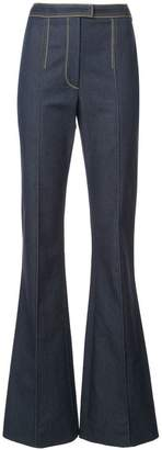 Carolina Herrera flared denim jeans