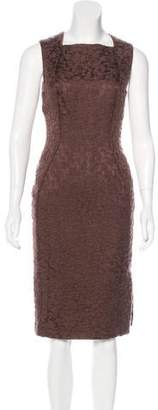 Bottega Veneta Mohair-Blend Sleeveless Dress