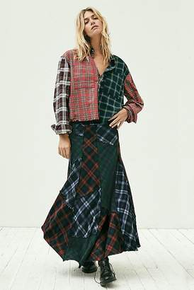 Walk This Way Maxi Skirt
