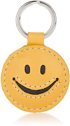 Barneys New York WOMEN'S SMILEY KEY RING - YELLOW