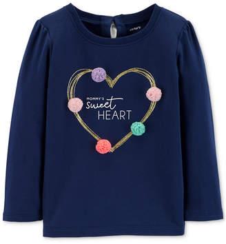 Carter's Toddler Girls Heart-Print T-Shirt