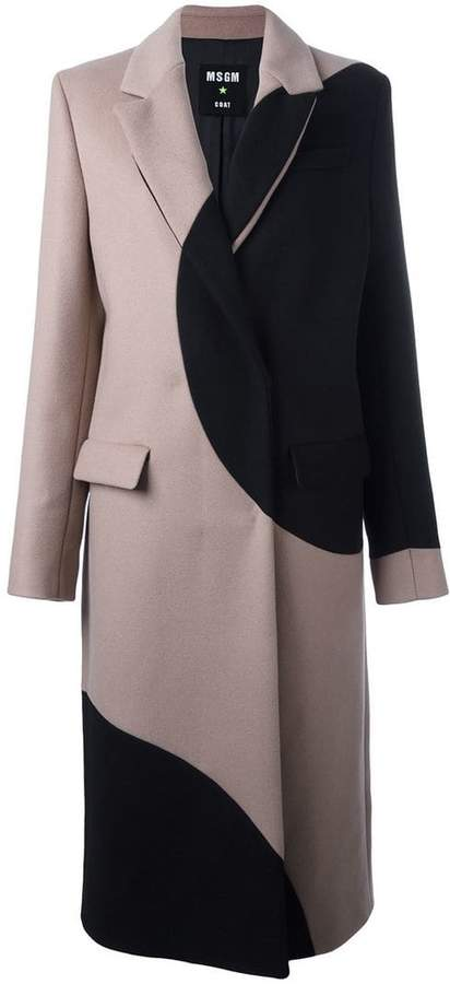 MSGM polka dot coat