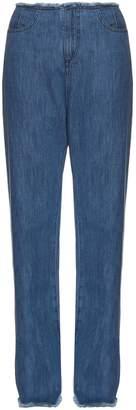 Marques Almeida MARQUES'ALMEIDA Frayed-edge boyfriend jeans