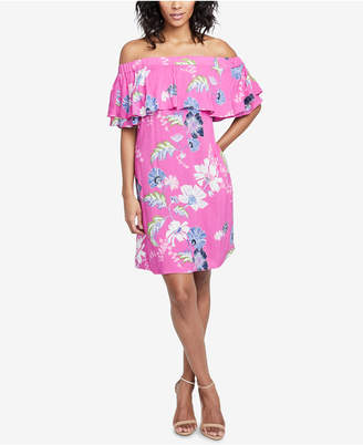 Rachel Roy Off-The-Shoulder Dress, Created for Macy's