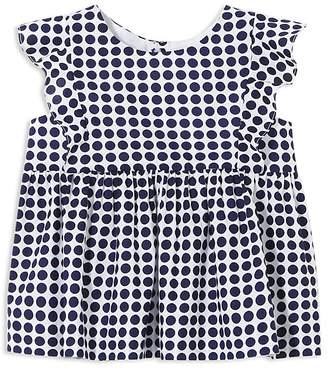 Jacadi Girls' Polka Dot-Print Tunic Blouse - Baby