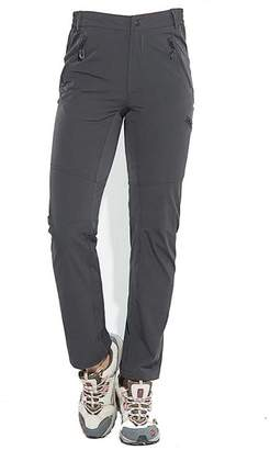 Facecozy Women Summer Hiking Trousers Quick Dry Outdoor Sports Pants (S, )