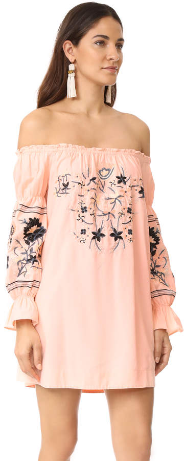 Free People Fleur Du Jour Mini Dress 11