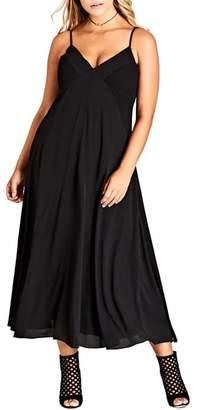 City Chic Boho Chic Maxi Dress