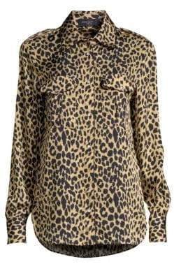 Piazza Sempione Animal Print Blouse
