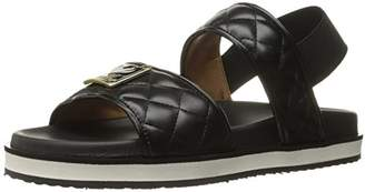 Love Moschino Women's Superquilted Sandal Flat