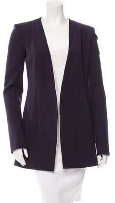 Narciso Rodriguez Purple Open Front Blazer