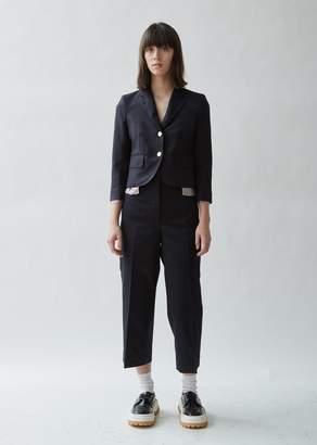 Thom Browne Cropped Wool Sports Blazer