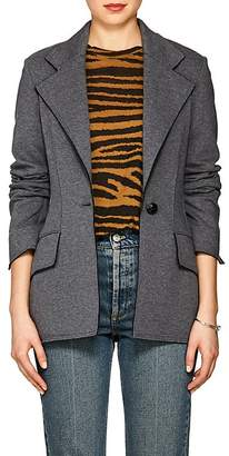 Proenza Schouler Women's Mélange Wool-Blend One-Button Blazer