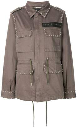 Philipp Plein studded cargo jacket