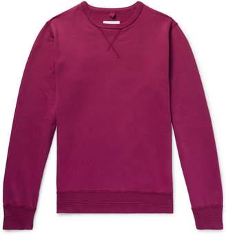 Albam Loopback Cotton-Jersey Sweatshirt