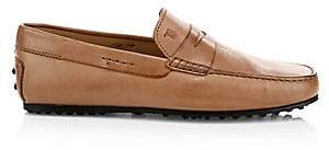 Tod's Men's City Gommini Leather Penny Loafers