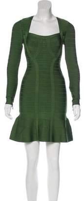 Herve Leger Rita Bandage Dress w/ Tags