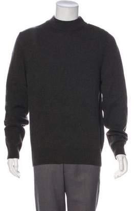 Tomas Maier Mock Neck Wool Sweater