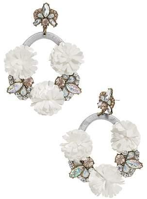 BaubleBar Ice Lily Loop Drop Earrings