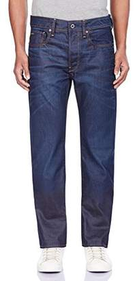 G Star G-Star Men's 3301 4639 Straight Jeans, Blue (Dark Aged)