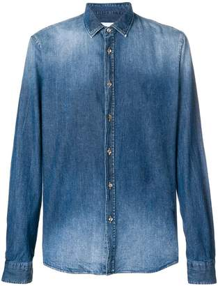 Dondup stonewashed denim shirt
