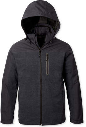 Hawke & Co Men's 3-in-1 Colorblocked Hooded Raincoat