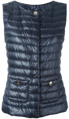 Herno padded gilet $440 thestylecure.com