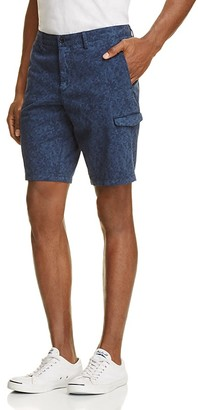 BOSS Green Liem4-2-D Slim Fit Cargo Shorts $145 thestylecure.com