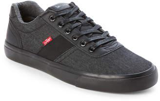 Levi's Black Miles Denim Low-Top Sneakers