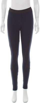 Theory Contrast Elasticized Leggings