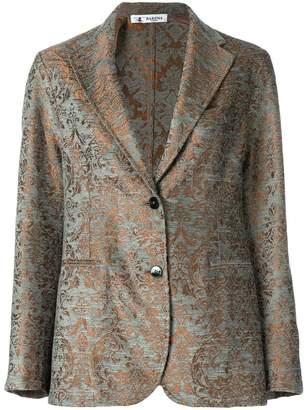 Barena patterned tailored jacket