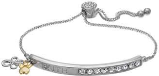 SPARKLE ALLURE Sparkle Allure Womens White Stretch Bracelet