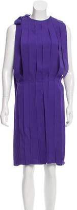 Bottega Veneta Fringe Knee-Length Dress