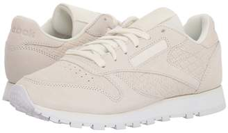 Reebok Classic Leather Woven Embossed Women's Classic Shoes