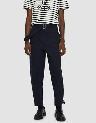 J.W.Anderson Garment Dyed Army Trouser