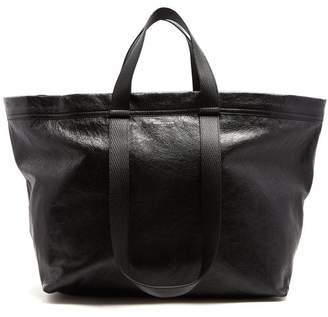 Balenciaga Carry Shopper M - Mens - Black