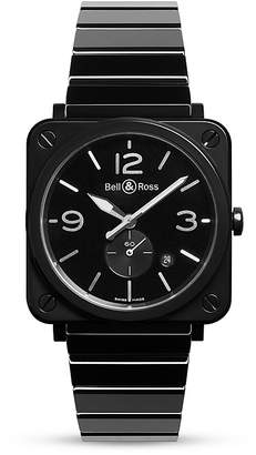 Bell & Ross BR S Black Ceramic Watch, 39mm