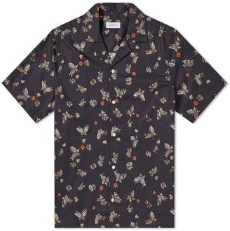 Saturdays NYC Short Sleeve Canty Butterfly Vacation Shirt